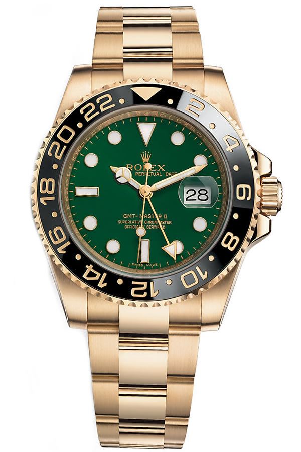 Fake Rolex new GMT- Master2 green116718LN