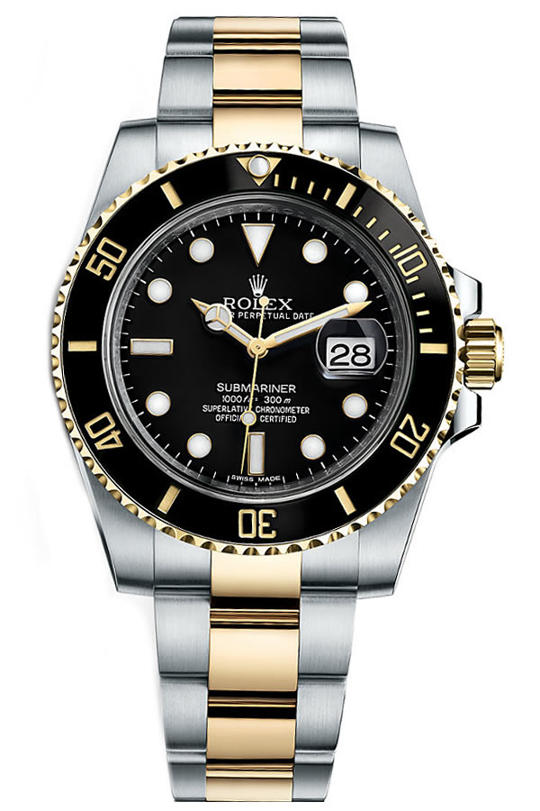 Fake Rolex Submariner  Steel and Gold