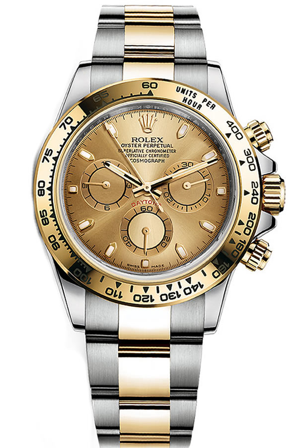Fake Rolex Daytona Steel and Gold