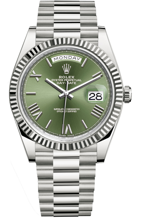 Fake Rolex Day-Date Green