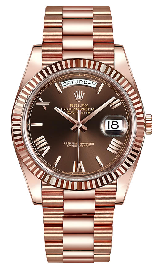 Fake Rolex Day-Date Chocolate